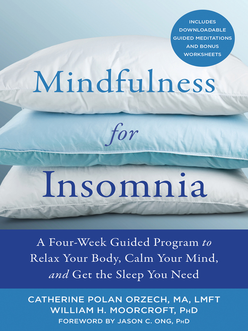 Image: Mindfulness for Insomnia