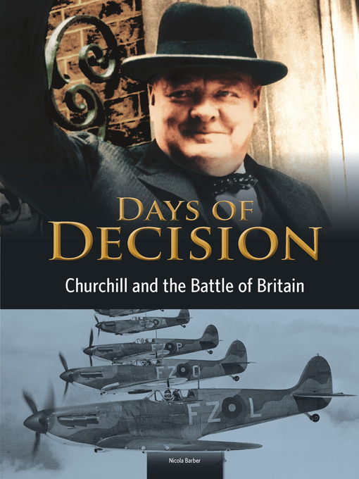 Cover of Churchill and the Battle of Britain
