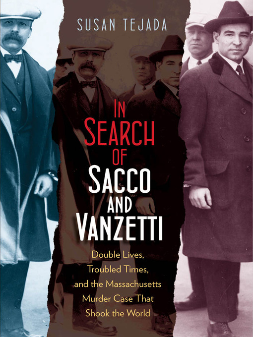 Cover of In Search of Sacco and Vanzetti