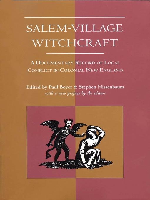 a review of boyer and nissenbaums book salem possessed