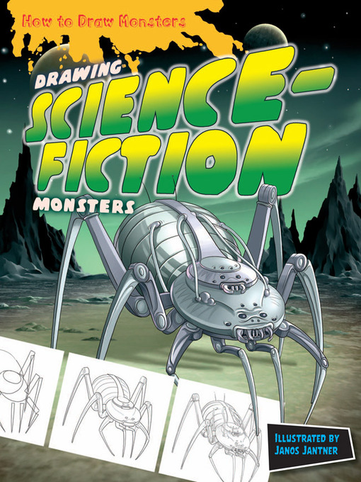 Title details for Drawing Science-Fiction Monsters by Janos Jantner - Available