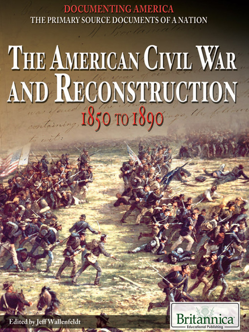 the end of civil war marks the beginning of reconstruction in america Origins of the american civil war  by the end of the war,  for the history of theology in america, the great tragedy of the civil war is that the most persuasive theologians were the rev drs william tecumseh sherman and ulysses s grant.