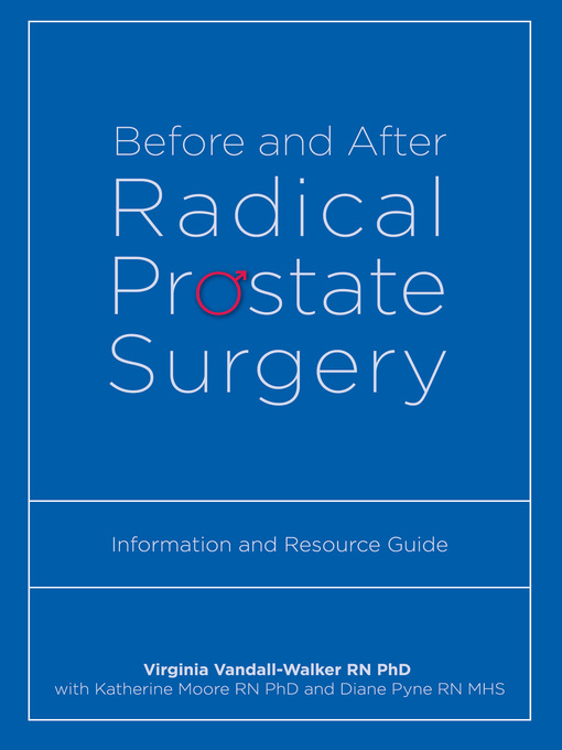 Title details for Before and After Radical Prostate Surgery by Virginia Vandall-Walker - Available