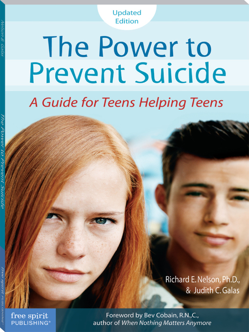 Title details for The Power to Prevent Suicide by Richard E. Nelson, Ph.D. - Available