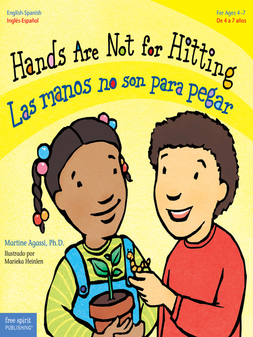 Title details for Hands Are Not for Hitting / Las manos no son para pegar by Martine Agassi - Wait list