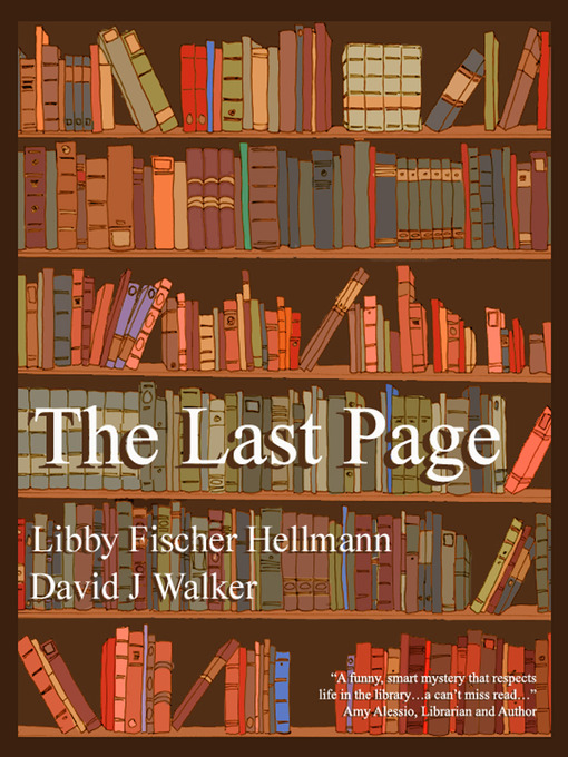 Title details for The Last Page by Libby Fischer Hellmann - Wait list