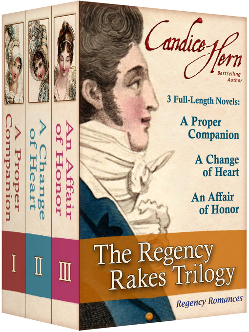 Title details for The Regency Rakes Trilogy by Candice Hern - Wait list