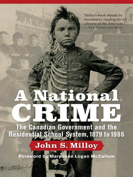 Title details for A National Crime by John S. Milloy - Wait list