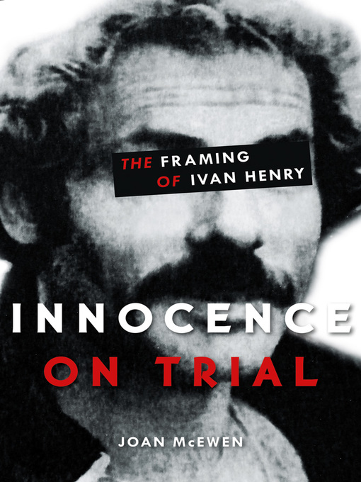 Title details for Innocence on Trial by Joan McEwen - Wait list