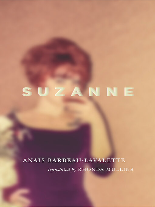 Cover of Suzanne