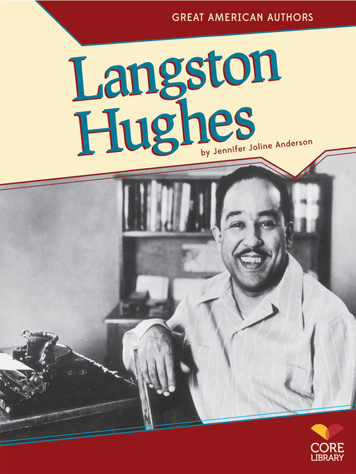a biography of langston hughes the american poet and social activist