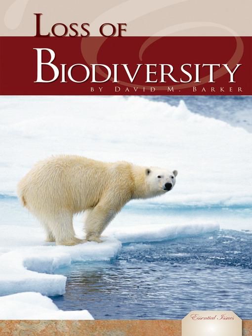 loss of biodiversity