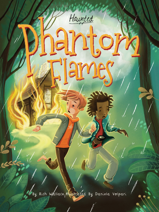 Cover of Phantom Flames