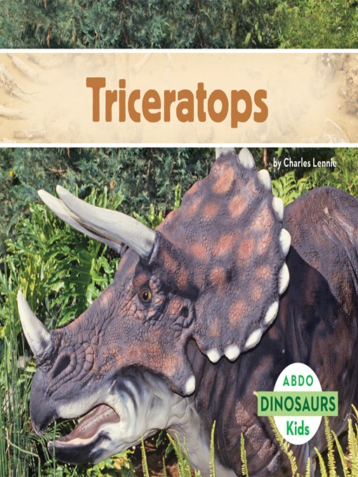 Title details for Triceratops by Charles Lennie - Wait list