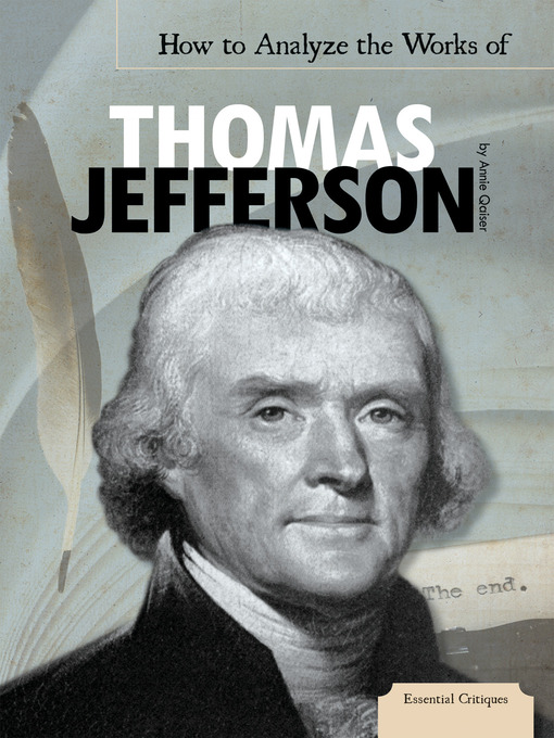 an analysis of thomas jeffersons presidency A new portrait of the founding father challenges the long-held perception of thomas jefferson as a benevolent slaveholder the dark side of thomas jefferson.