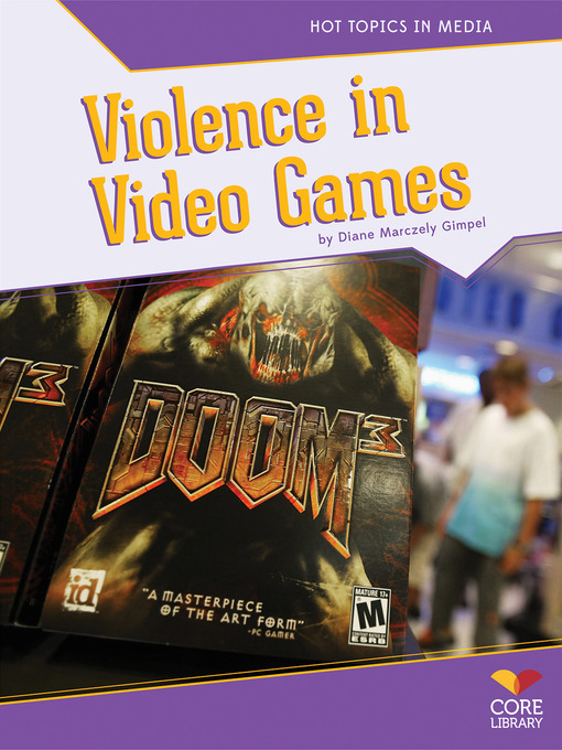 notes on video game violence Violent video games do not cause real-world aggression  and increasingly realistic class of video games famous for their violence  side note: i don't believe.