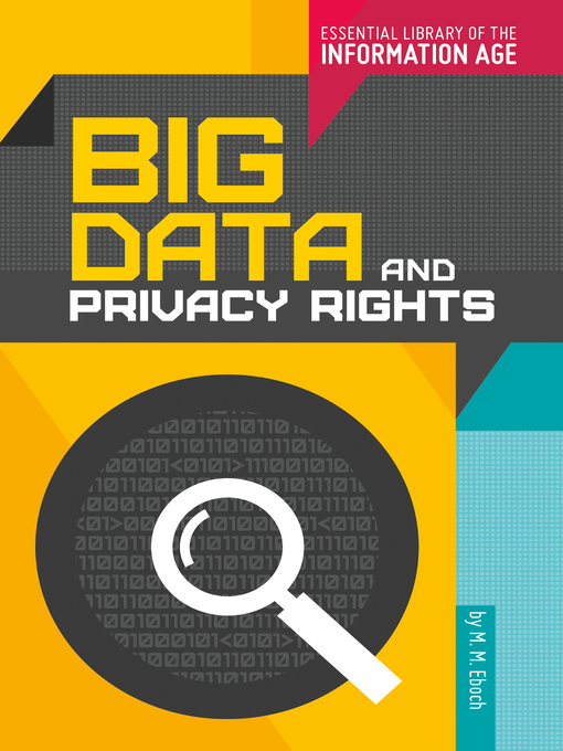 Title details for Big Data and Privacy Rights by M. M. Eboch - Available