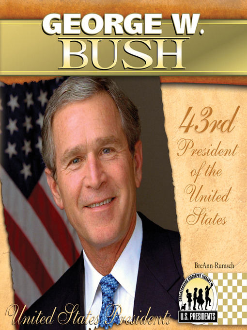 a biography of george bush