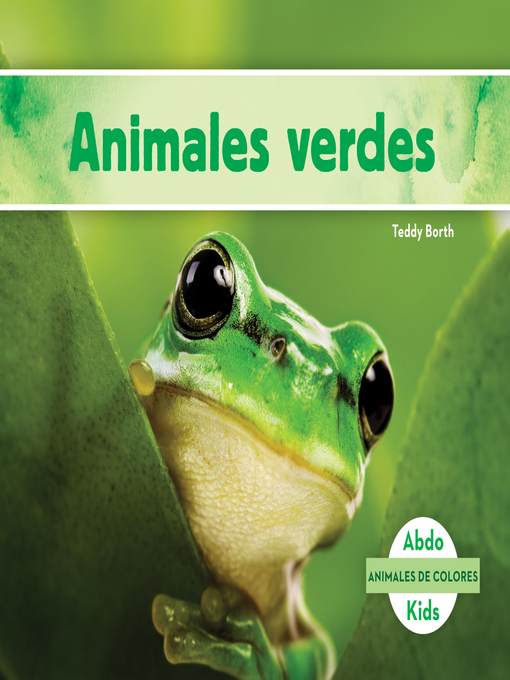 Title details for Animales verdes (Green Animals) by Teddy Borth - Available