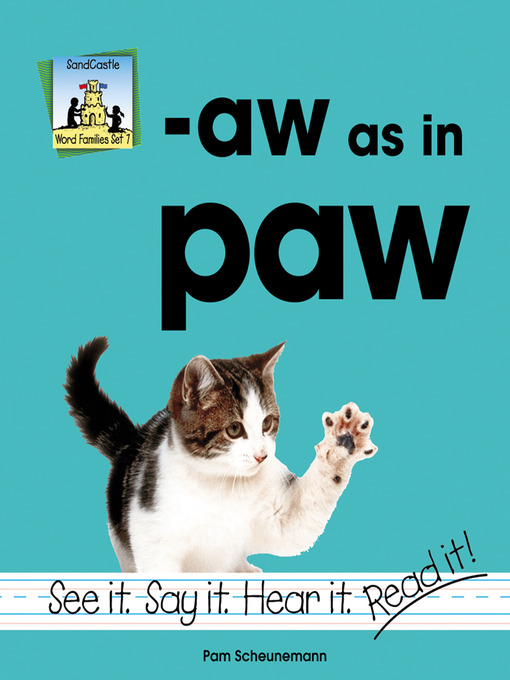 Title details for aw as in paw by Pam Scheunemann - Available