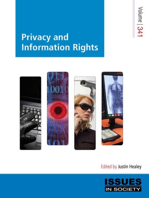 Cover of Privacy and Information Rights