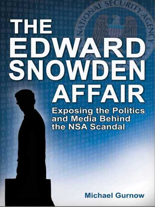 Cover of The Edward Snowden Affair