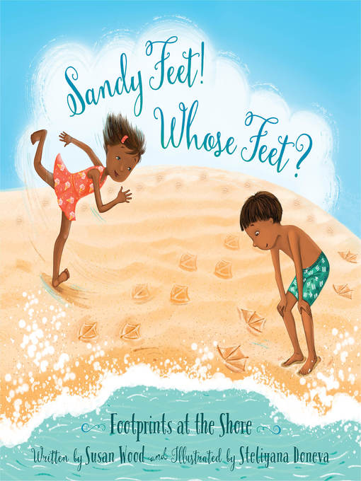 Cover of Sandy Feet! Whose Feet?