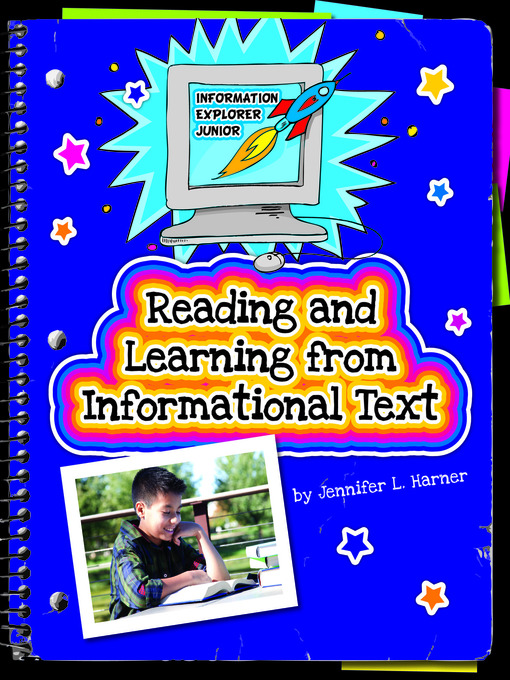 Cover of Reading and Learning from Informational Text