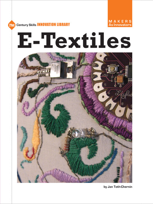 Title details for e-Textiles by Jan Toth-Chernin - Available