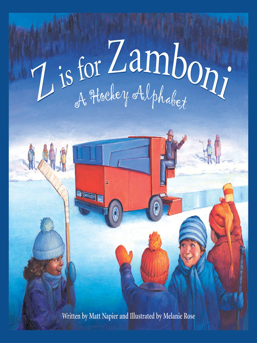 Cover of Z is for Zamboni