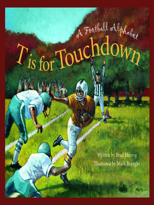 Cover of T is for Touchdown