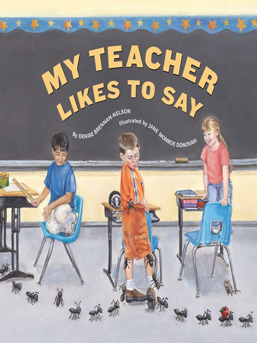 My Teacher Likes To Say