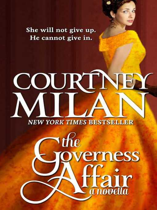 Title details for The Governess Affair by Courtney Milan - Available