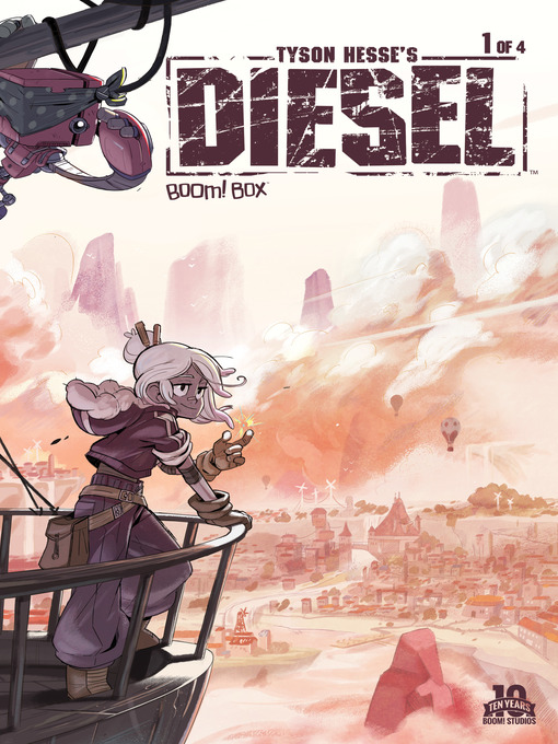 Cover of Tyson Hesse's Diesel #1