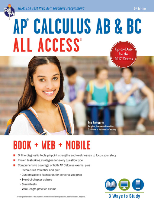 Title details for AP® Calculus AB & BC All Access Book + Online by Stu Schwartz - Available