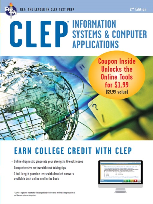 Cover of CLEP Information Systems & Computer Applications w/Online Practice Exams