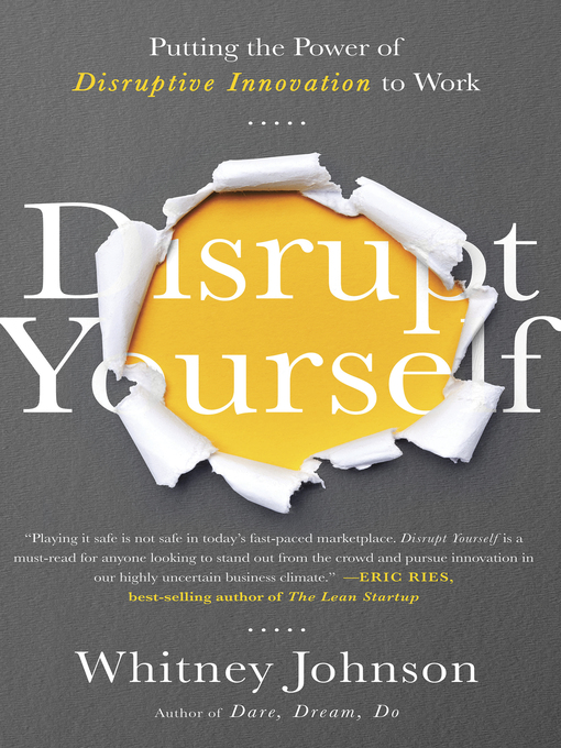 Title details for Disrupt Yourself by Whitney Johnson - Available