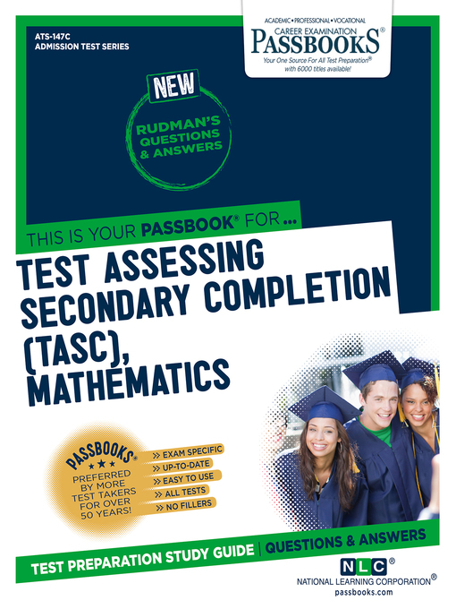 Title details for Test Assessing Secondary Completion (TASC), Mathematics by National Learning Corporation - Available