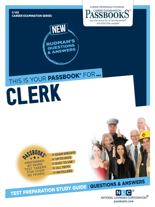 Title details for Clerk by National Learning Corporation - Available