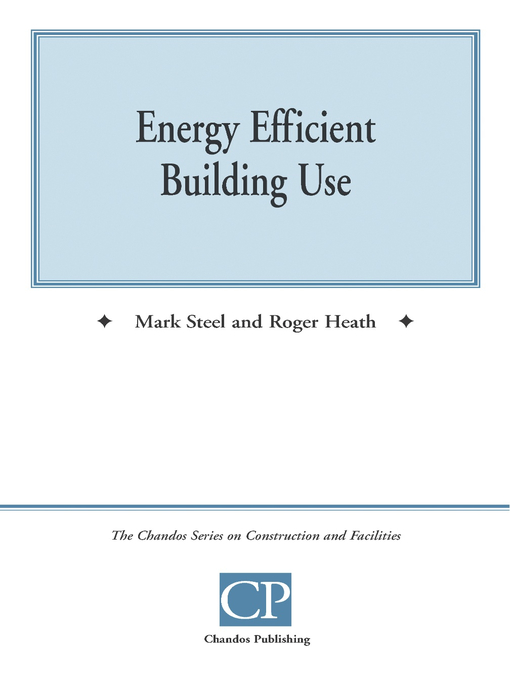 Cover of Energy Efficient Building Use