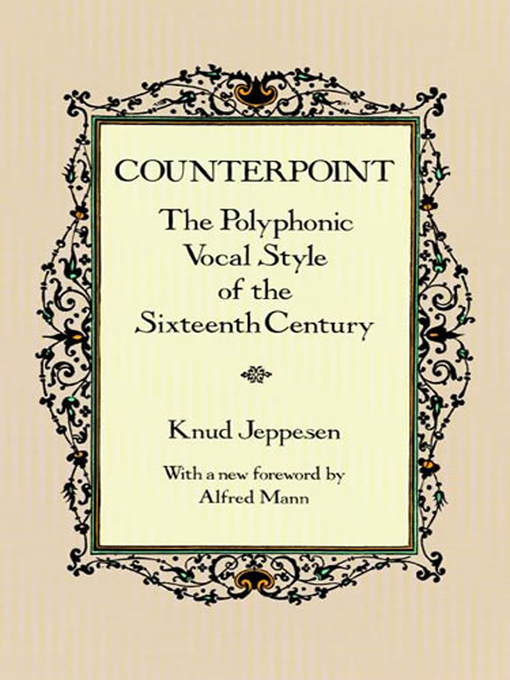 Title details for Counterpoint by Knud Jeppesen - Available