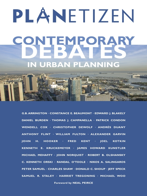 Title details for Planetizen's Contemporary Debates in Urban Planning by Abhijeet Chavan - Available