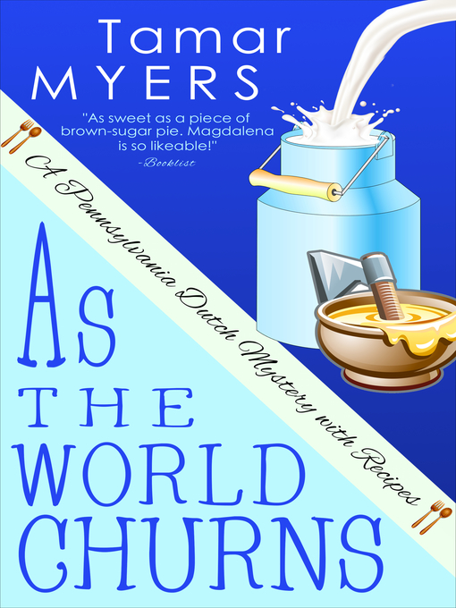 Title details for As the World Churns by Tamar Myers - Wait list