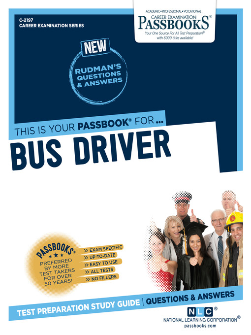 Title details for Bus Driver by National Learning Corporation - Available