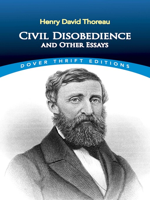 Title details for Civil Disobedience and Other Essays by Henry David Thoreau - Available