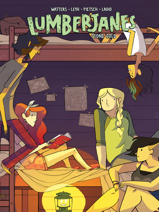Cover of Lumberjanes, Volume 8
