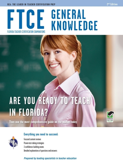 FTCE General Knowledge - Broward County Library - OverDrive