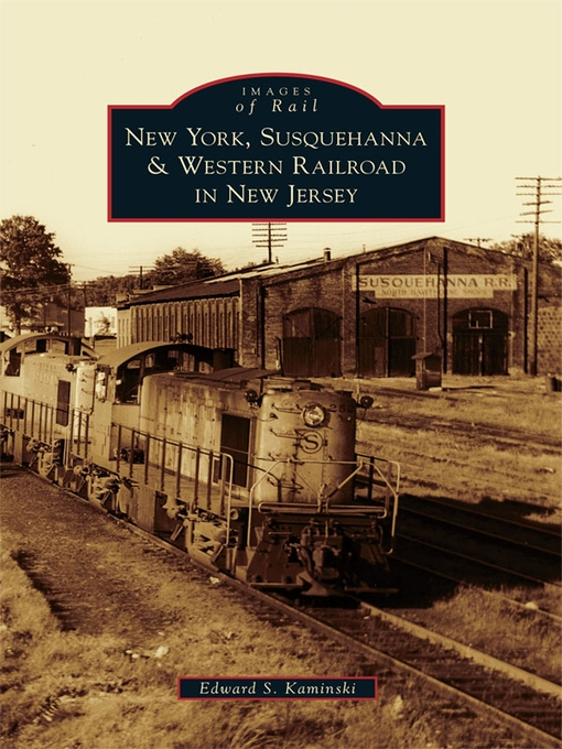 Cover of New York, Susquehanna & Western Railroad in New Jersey