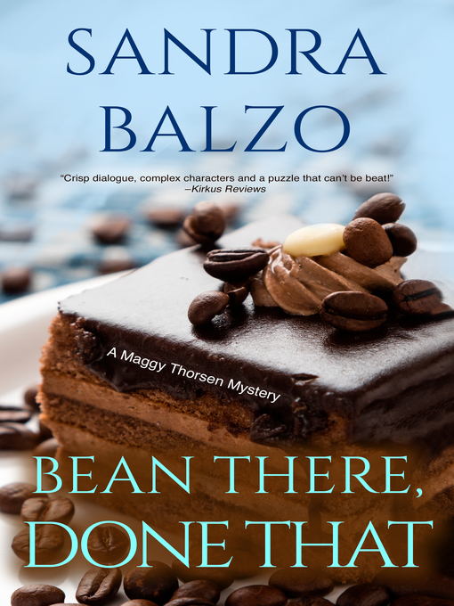 Title details for Bean There, Done That by Sandra Balzo - Wait list