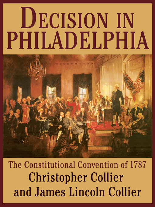 decision in philadelphia Decision in philadelphia is a basic account of the constitutional convention, nothing more i didn't enjoy this as much as catherine bowen's, miracle at philadelphia as it seemed so amateurish it was a decent account of the events and the arguments but at times it seemed to bounce all over the place.